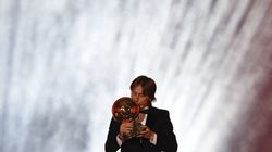 Luka Modric Ballon d'Or devant les Bleus et Cristiano