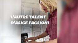 Alice Taglioni dévoile ses talents de