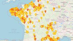 La carte en temps réel des stations-service en pénurie de