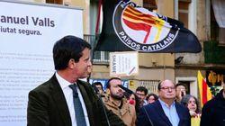 Un meeting de Valls perturbé par des indépendantistes à