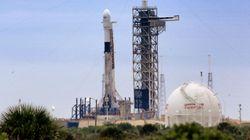Une fusée pour l'ISS a été retardée... à cause de nourriture pour souris