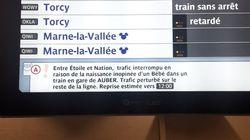 Cette passagère qui a aidé une femme à accoucher dans le RER dénonce