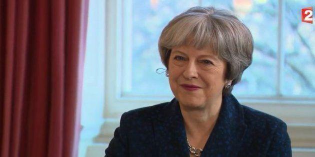 Prêt de la tapisserie de Bayeux au Royaume-Uni: Theresa May