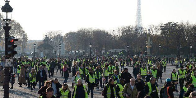 Le marathon télévisuel du Téléthon devait initialement être réalisé depuis la place de la Concorde (Photo...
