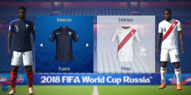 France-Perou à la Coupe du monde 2018: l'intelligence artificielle