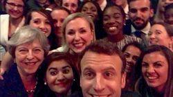 Macron et May célèbrent leur