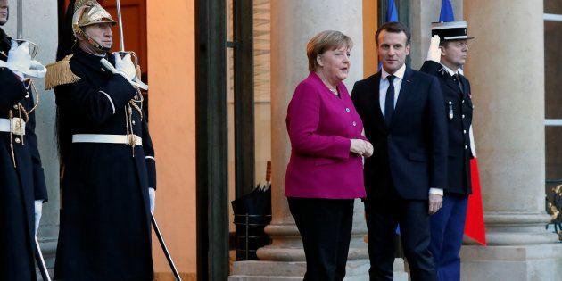 Macron n'est-il pas allé trop vite en recevant Merkel à