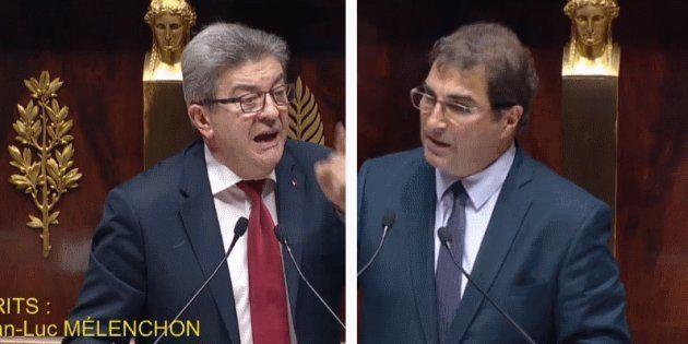Jean-Luc Mélenchon et Christian Jacob ont tous les deux senti un parfum de fin de règne après le discours...