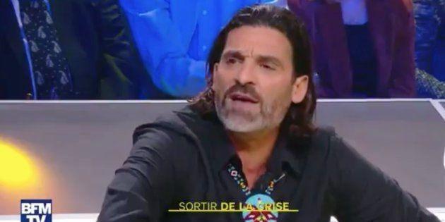 Xavier Mathieu sur le plateau de BFM mercredi 5
