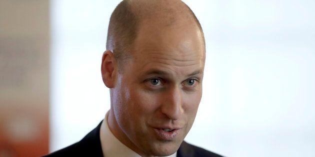 À l'inverse du Prince William, mieux vaut tout raser en cas de calvitie (Londres, le 18 janvier 2018).