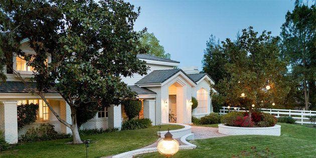 La villa d'Omar Sy à Los