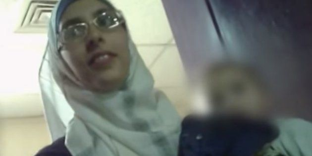 Mélina Boughedir lors de son procès, le 3 juin