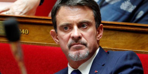 Manuel Valls à l'Assemblée nationale le 24 octobre