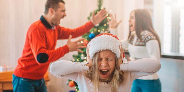 Chez certaines personnes, Noël peut aussi être une source de