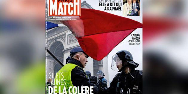Un antisémite se retrouve en Une de Paris Match pour illustrer les gilets