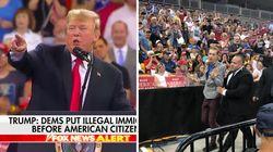 Donald Trump a encore rendu un de ses meeting remarquable en conseillant à cet opposant de rentrer chez sa