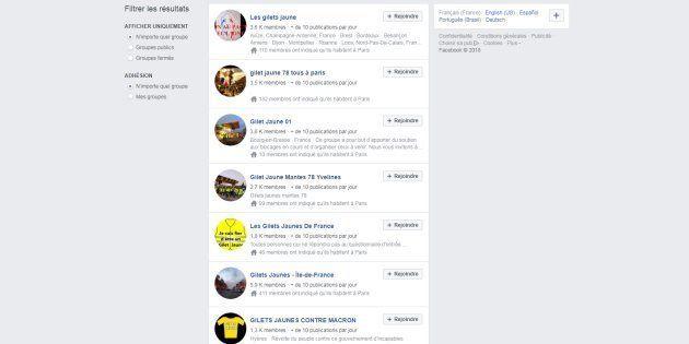 Le rôle de Facebook dans la mobilisation des gilets jaunes est