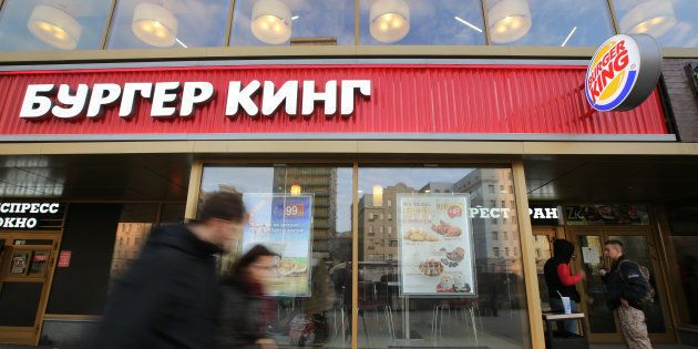 Coupe du monde 2018: Burger King s'excuse d'avoir incité les femmes russes à coucher avec des footballeurs...