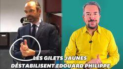 BLOG - Le désarroi d'Édouard Philippe se lit dans ses
