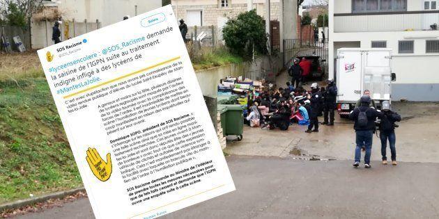 SOS Racisme demande la saisine de l'IGPN suite au traitement indigne infligé à des lycéens de