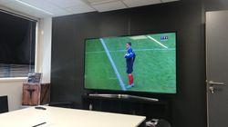 Les Français ont déserté leur poste pour voir le match des