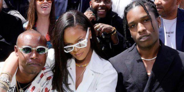 Rihanna, Kim Kardashian, Kanye West... le parterre de star impressionnant pour le 1er défilé de Virgil...