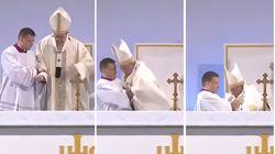 Le Pape a fait un malaise pendant la messe à