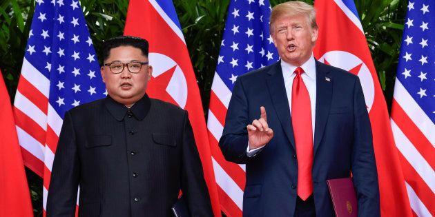 Trump: la Corée du Nord a