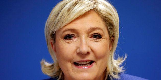 Marine Le Pen reprend mot à mot les revendications des syndicats