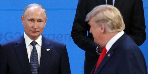 Donald Trump et Vladimir Poutine lor du dernier G20 à Buenos