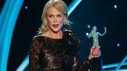 Le bel hommage de Nicole Kidman aux actrices de plus de 40 ans aux SAG