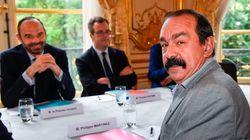 Le patron de la CGT défie Philippe de l'affronter dans un duel télévisé sur la réforme