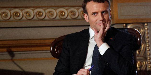 Emmanuel Macron se donne un an et demi pour finaliser la réforme des