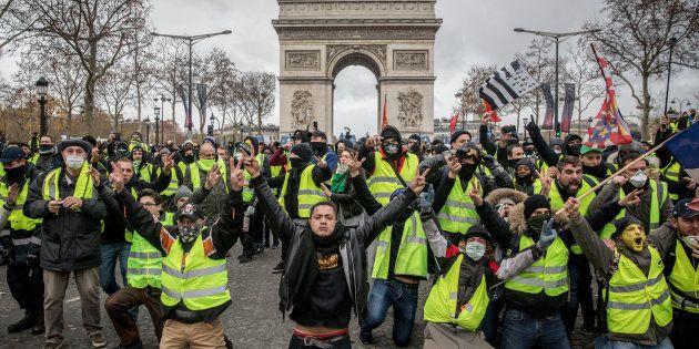 L'acte IV de la mobilisation des gilets jaunes a rassemblé quelque 125.000 personnes sur l'ensemble du...