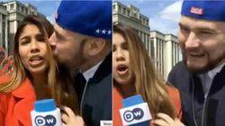 La journaliste embrassée et touchée de force au Mondial a accepté les excuses de son