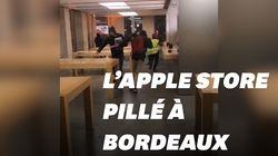 L'Apple store de Bordeaux pillé lors des débordements des gilets