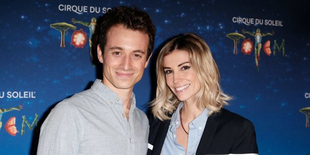 Hugo Clément et sa compagne, l'ancienne miss France Alexandra Rosenfeld, fin octobre à