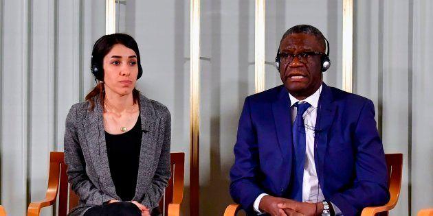 Nadia Murad et Denis Mukwege reçoivent ce lundi 10 décembre à Olso leur prix Nobel de la
