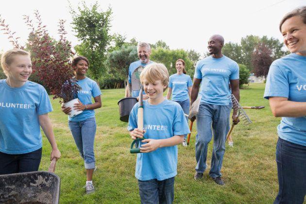 Le volontariat est aussi un excellent moyen de promouvoir l'empathie.