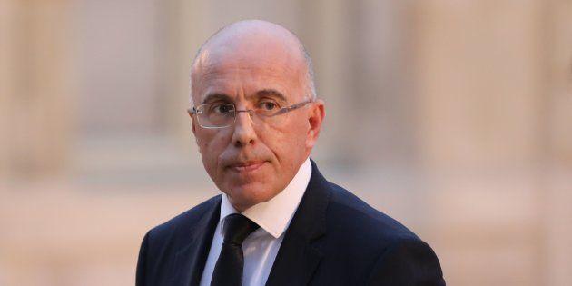 Eric Ciotti à Paris le 30 janvier