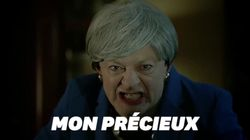 L'acteur de Gollum parodie Theresa May et son