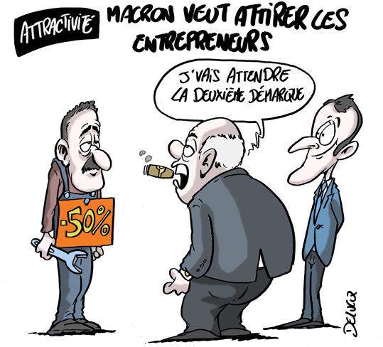 Comment Emmanuel Macron fait la promotion de la
