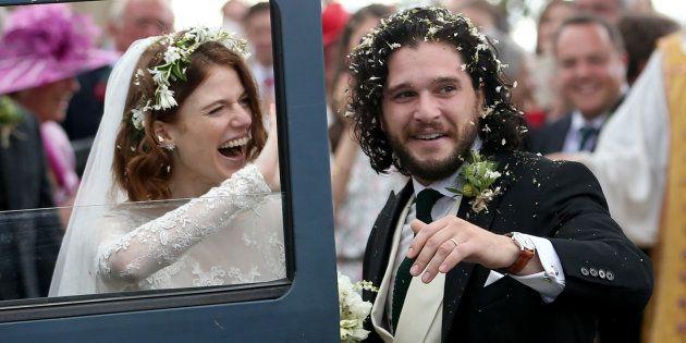 Kit Harington et Rose Leslie, Jon Snow et Ygritte
