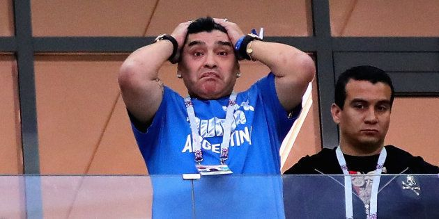Coupe du monde: Maradona veut rencontrer l'équipe d'Argentine pour