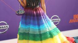 La robe arc-en-ciel de Janelle Monáe a fait sensation aux BET