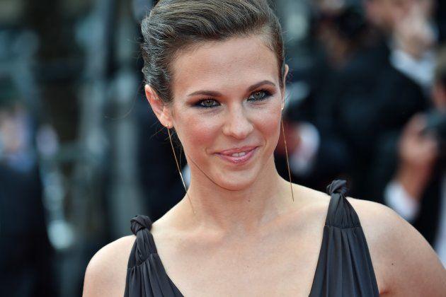 La chanteuse Lorie au Festival de Cannes en 2015.