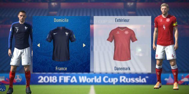 France-Danemark à la Coupe du monde 2018: l'intelligence artificielle