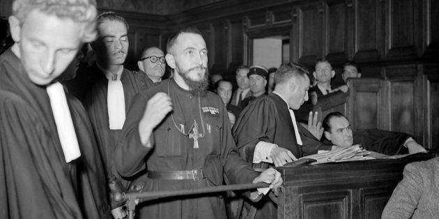 L'Abbé Pierre en 1949, alors député de