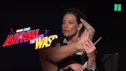 Evangeline Lilly croit savoir pourquoi les super-héros Marvel trouvent leurs costumes