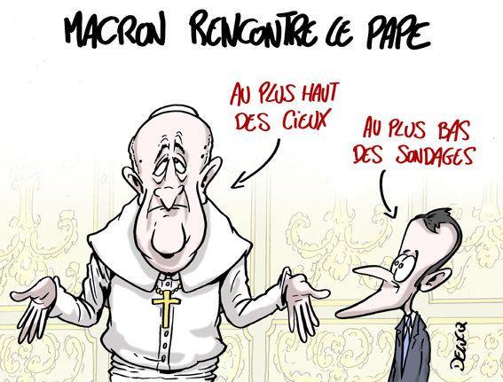 Emmanuel Macron et le pape François seront-ils sur la même longueur